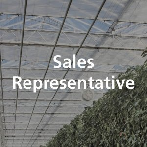Vacature Sales Representative